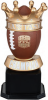 Fantasy Football Trophy Figure and Base Trophies
