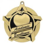 Academic Excellence Super Star Medal Academic