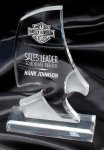 Phantom Eagle Clear Award Acrylic Awards