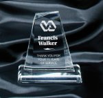 Clear Pinnacle Award Acrylic Awards