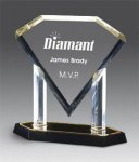 Dramatic Diamond Award Acrylic Awards