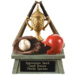 Vintage Trophy Award Baseball Baseball and Softball