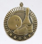 Star Bowling Medals Bowling