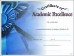 Photo Certificate of Academic Excellence Certificate Awards