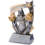 3D Resin Cheer Cheerleading Trophy Awards