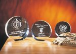 Eclipse Clear Glass / Clear Optical Crystal Awards