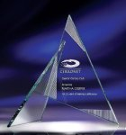 Zephyr Clear Glass / Clear Optical Crystal Awards