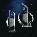 Celestial Clear Glass / Clear Optical Crystal Awards