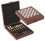 Rosewood Chess Set Clocks and Gift Awards