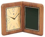 American Walnut Album Clock Clocks and Gift Awards
