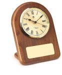 American Walnut Arch Clock Clocks and Gift Awards