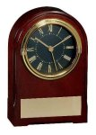 American Walnut Finish Arch Clock Clocks and Gift Awards