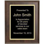 Cherry Recognition Plaque Corporate Plaques
