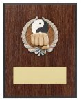 Karate Resin Plaque Mount Award Economy Plaques and Awards