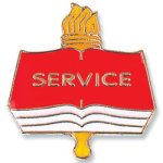 Service Lapel Pin Education Trophy Awards