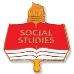 Social Studies Lapel Pin Education Trophy Awards