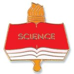 Science Lapel Pin Education Trophy Awards