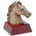 Horse Resin Equestrian Trophy Awards