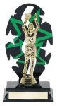 Basketball Male Backdrop Trophy Figure and Base Trophies