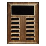 Walnut Perpetual Plaque Fire and Safety Awards