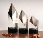 Executive Diamond Pillar Glass Awards