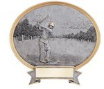 Legend Golf Oval Award Golf