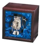 Nickel Plated Golf Tankard In Wood Box Golf Awards
