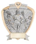 Signature Series Lacrosse Shield Award Lacrosse