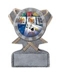 Action Sport Mylar Holder Lacrosse Trophy Awards