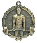 Wreath Male Weightlifting Medals Miscellaneous