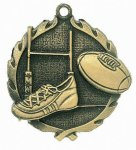 Wreath Rugby Medal Miscellaneous