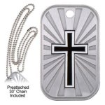 Cross Dog Tag Miscellaneous