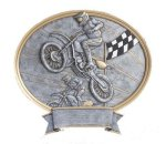 Legend Motocross Oval Award Moto-Cross Trophy Awards