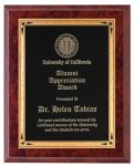 Ruby Marble Finish Recognition Plaque Patriotic Awards