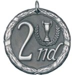 2nd Place Silver Place