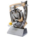 3D Resin Softball Softball Trophy Awards